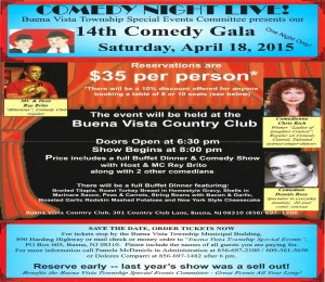 2015 Comedy Flyer