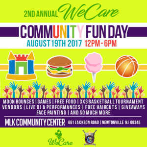 Community Fun Day - MLK Center @ Martin Luther King Community Center | Buena Vista Township | New Jersey | United States