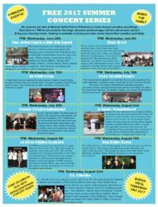 Summer Concert Series @ Michael Debbi Park  | Buena Vista Township | New Jersey | United States