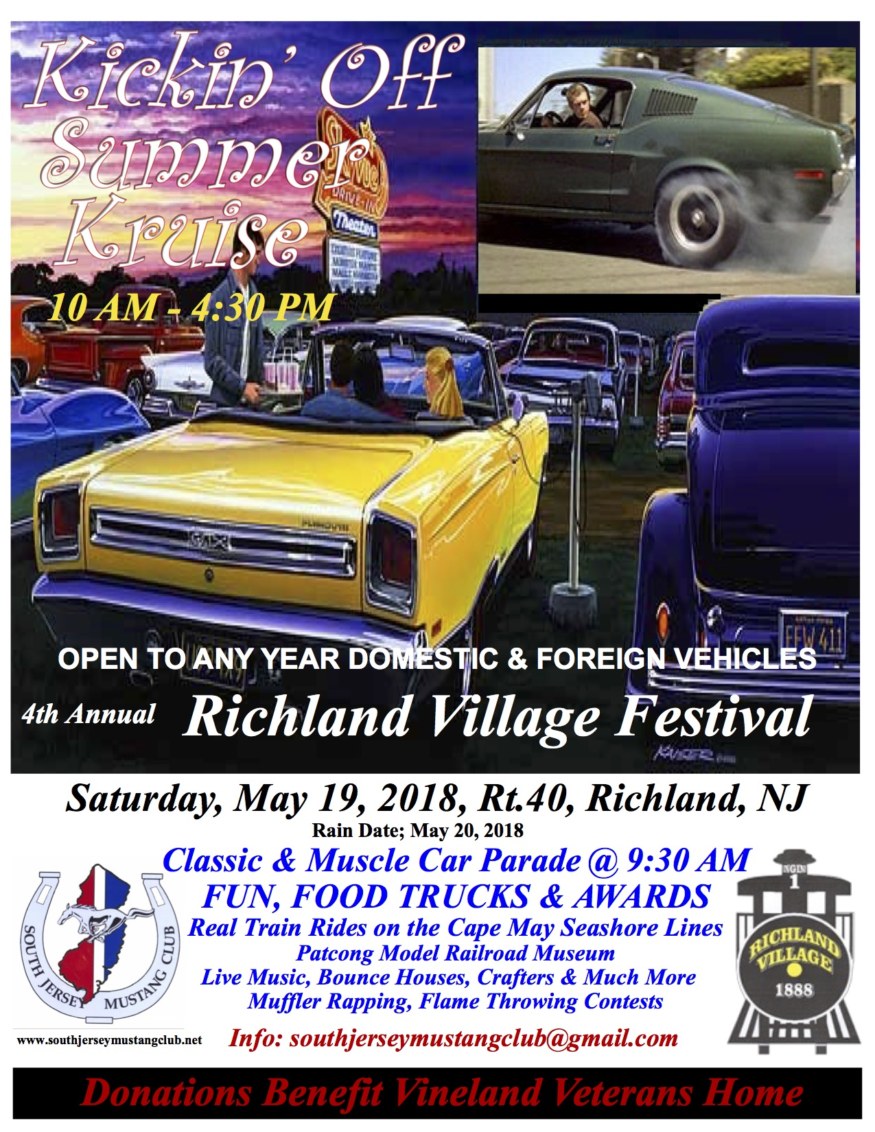 Buena Vista Township Car Shows - Millville car show 2018